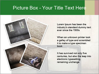 Television in room PowerPoint Templates - Slide 23