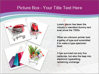 Shopping cart in parking lot PowerPoint Templates - Slide 23
