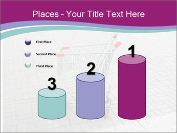 Shopping cart in parking lot PowerPoint Template - Slide 65