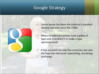 Elderly woman likes to run PowerPoint Template - Slide 10