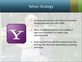 Elderly woman likes to run PowerPoint Template - Slide 11