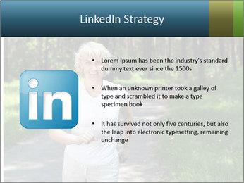 Elderly woman likes to run PowerPoint Templates - Slide 12