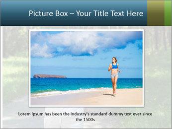 Elderly woman likes to run PowerPoint Templates - Slide 15