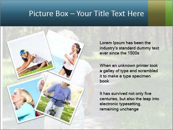 Elderly woman likes to run PowerPoint Template - Slide 23