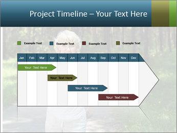 Elderly woman likes to run PowerPoint Templates - Slide 25