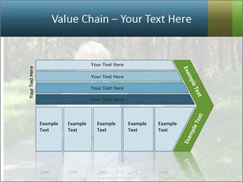 Elderly woman likes to run PowerPoint Templates - Slide 27