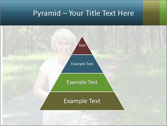 Elderly woman likes to run PowerPoint Template - Slide 30