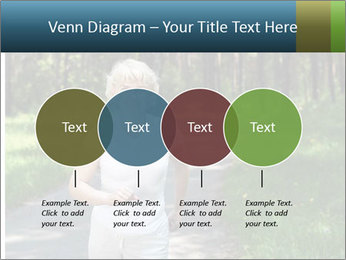 Elderly woman likes to run PowerPoint Template - Slide 32