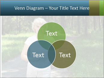 Elderly woman likes to run PowerPoint Template - Slide 33
