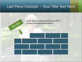 Elderly woman likes to run PowerPoint Templates - Slide 46