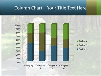 Elderly woman likes to run PowerPoint Template - Slide 50