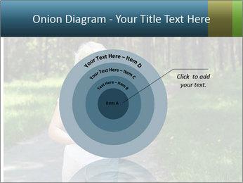 Elderly woman likes to run PowerPoint Template - Slide 61