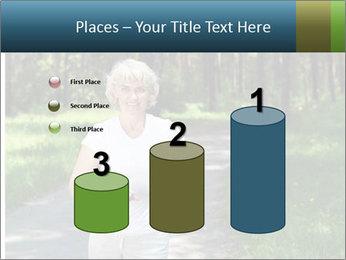 Elderly woman likes to run PowerPoint Template - Slide 65