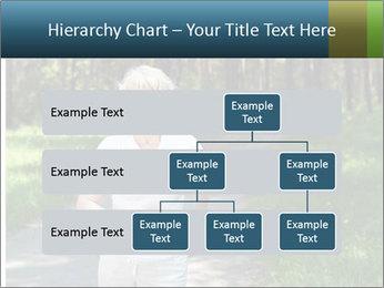 Elderly woman likes to run PowerPoint Template - Slide 67