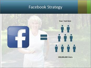 Elderly woman likes to run PowerPoint Templates - Slide 7