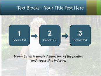 Elderly woman likes to run PowerPoint Template - Slide 71