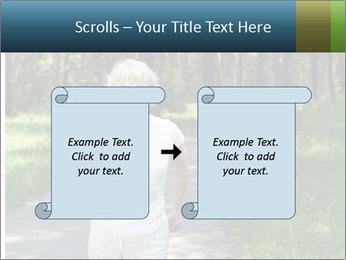 Elderly woman likes to run PowerPoint Template - Slide 74