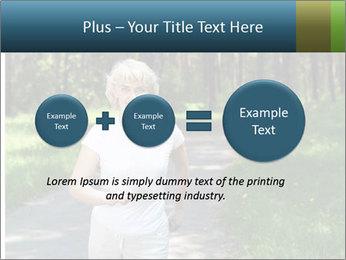 Elderly woman likes to run PowerPoint Template - Slide 75