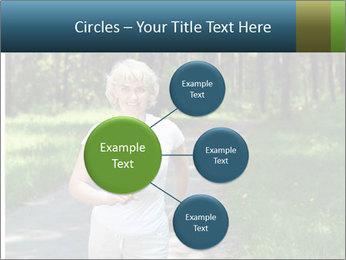 Elderly woman likes to run PowerPoint Template - Slide 79