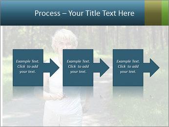 Elderly woman likes to run PowerPoint Templates - Slide 88