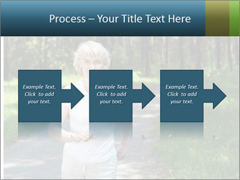 Elderly woman likes to run PowerPoint Template - Slide 88