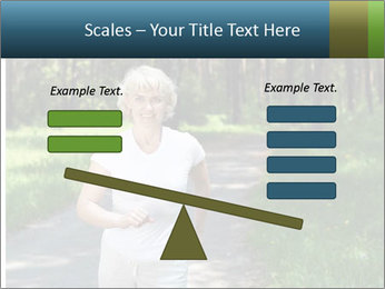 Elderly woman likes to run PowerPoint Templates - Slide 89