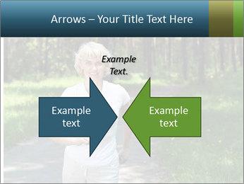Elderly woman likes to run PowerPoint Template - Slide 90