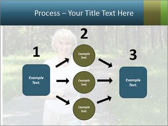 Elderly woman likes to run PowerPoint Templates - Slide 92
