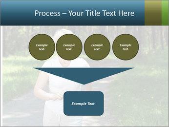 Elderly woman likes to run PowerPoint Templates - Slide 93