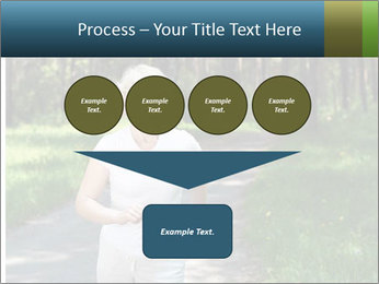 Elderly woman likes to run PowerPoint Template - Slide 93