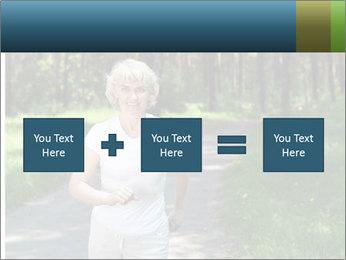 Elderly woman likes to run PowerPoint Templates - Slide 95