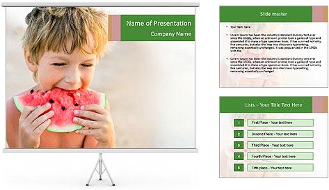 Watermelon PowerPoint Template