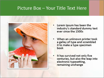 Watermelon PowerPoint Template - Slide 13