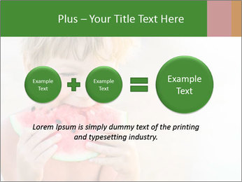 Watermelon PowerPoint Template - Slide 75