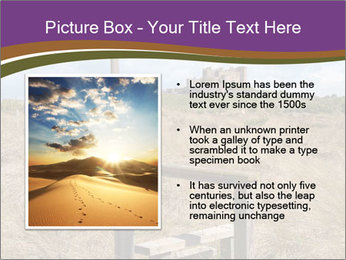 Castle among of  fields PowerPoint Templates - Slide 13