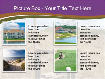 Castle among of  fields PowerPoint Templates - Slide 14
