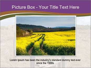 Castle among of  fields PowerPoint Templates - Slide 15