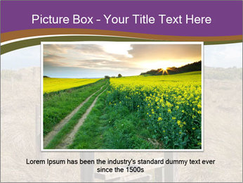 Castle among of  fields PowerPoint Templates - Slide 16