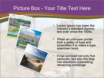 Castle among of  fields PowerPoint Templates - Slide 17