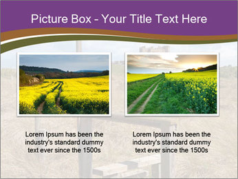 Castle among of  fields PowerPoint Templates - Slide 18