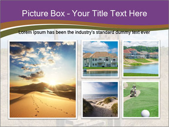 Castle among of  fields PowerPoint Templates - Slide 19