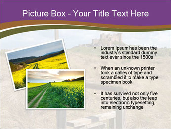Castle among of  fields PowerPoint Templates - Slide 20