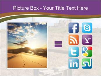 Castle among of  fields PowerPoint Templates - Slide 21
