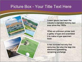 Castle among of  fields PowerPoint Templates - Slide 23