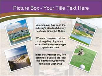 Castle among of  fields PowerPoint Templates - Slide 24