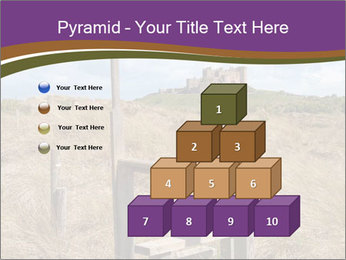 Castle among of  fields PowerPoint Templates - Slide 31