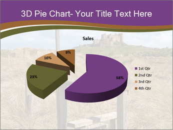 Castle among of  fields PowerPoint Templates - Slide 35