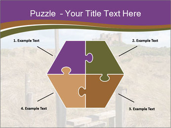 Castle among of  fields PowerPoint Templates - Slide 40