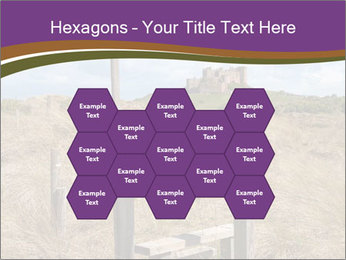 Castle among of  fields PowerPoint Templates - Slide 44
