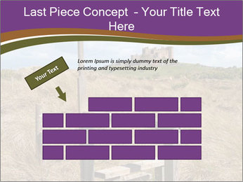 Castle among of  fields PowerPoint Templates - Slide 46